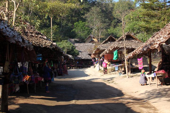 Baan Tong Luang Village