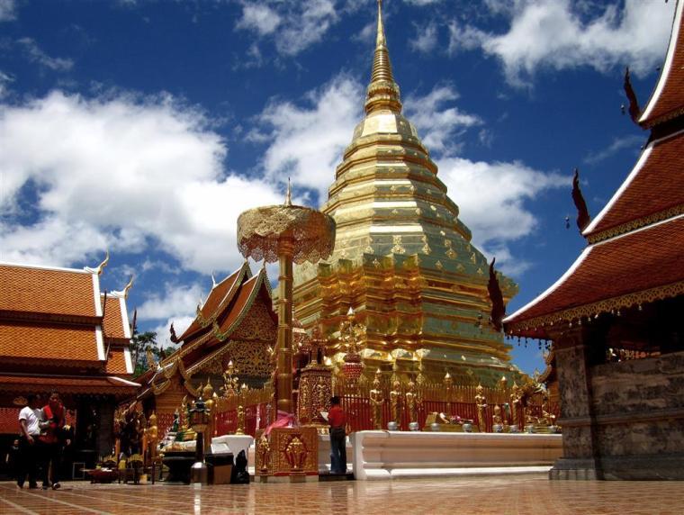 Templo da Montanha Vontade de Viajar