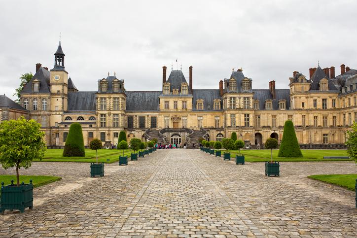 Fontainebleau Castle, France