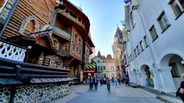 Russia - Moscou - Kremlin de Izmayolo (10)