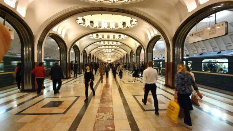 Russia - Moscou - Metro (18)