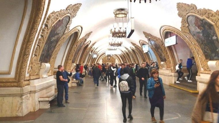 Russia - Moscou - Metro (22)