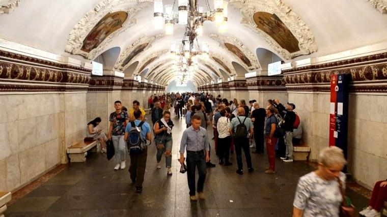 Russia - Moscou - Metro (32)