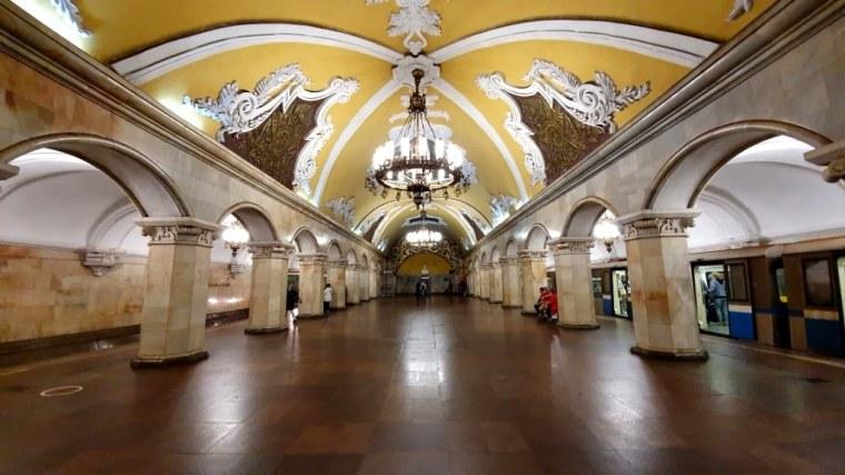 Russia - Moscou - Metro (8)